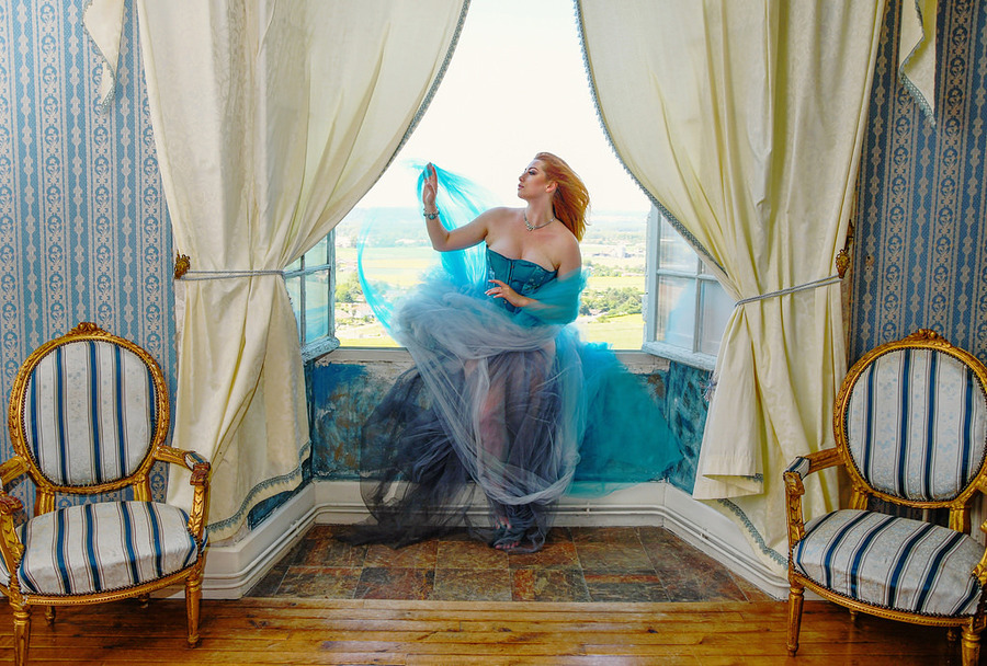 In the Blue Room / Photography by Sophie Merlo, Model Sinopa Rin, Post processing by Sophie Merlo, Stylist Tabitha Boydell - Stylist / Uploaded 22nd July 2017 @ 02:13 AM