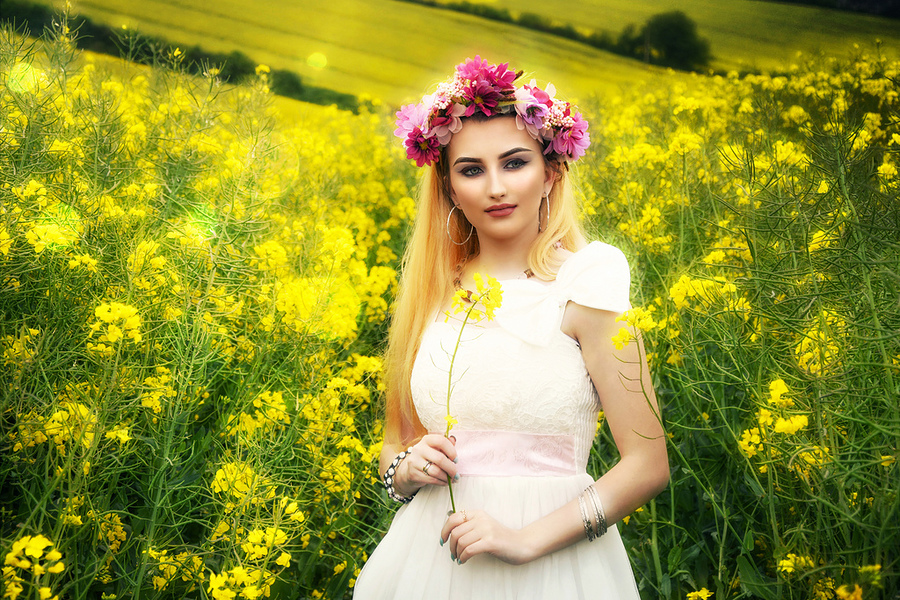 Fields of Gold / Photography by Sophie Merlo, Post processing by Sophie Merlo / Uploaded 6th August 2017 @ 10:29 PM