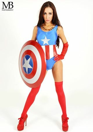 Mrs captain America / Photography by MB photography UK / Uploaded 30th December 2014 @ 05:49 PM