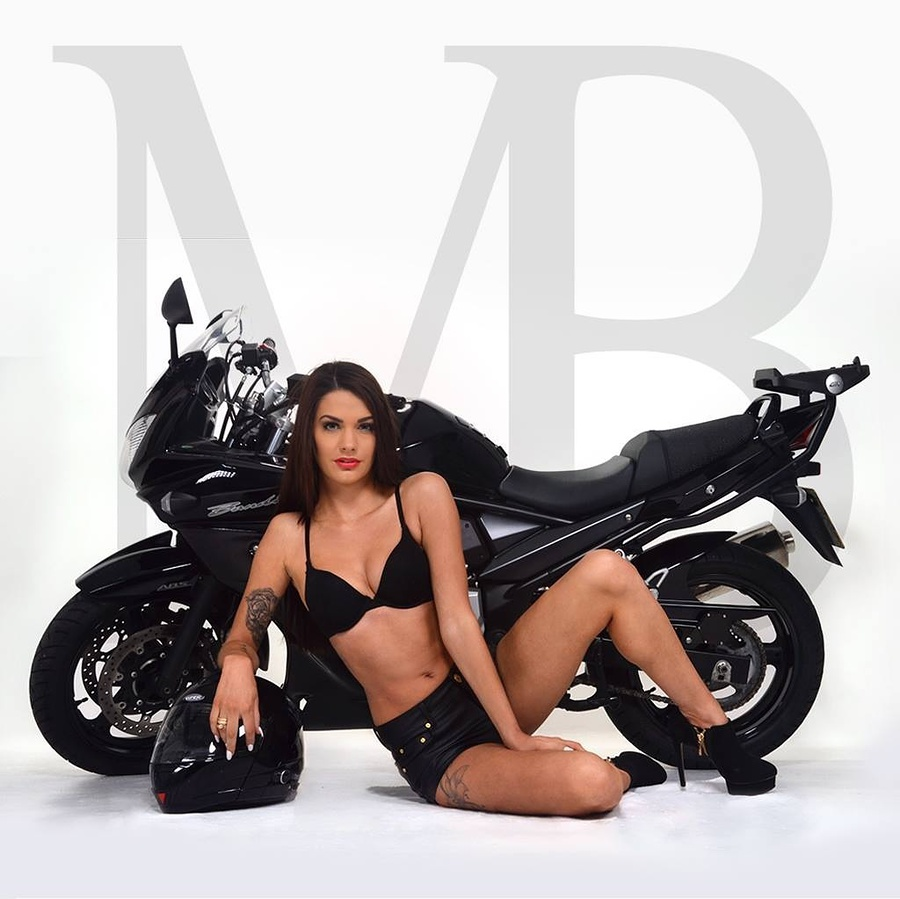 Biker babe / Photography by MB photography UK / Uploaded 14th March 2014 @ 11:35 PM