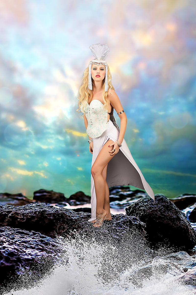 Goddess of the Sea / Post processing by Purple Princess Edits / Uploaded 15th June 2015 @ 04:23 PM