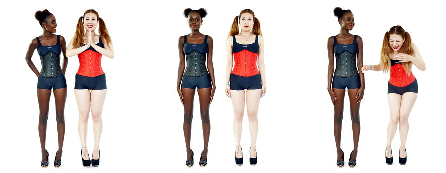 Ajara and Laura's corset fun / Photography by waist.it / Uploaded 24th July 2015 @ 11:41 PM