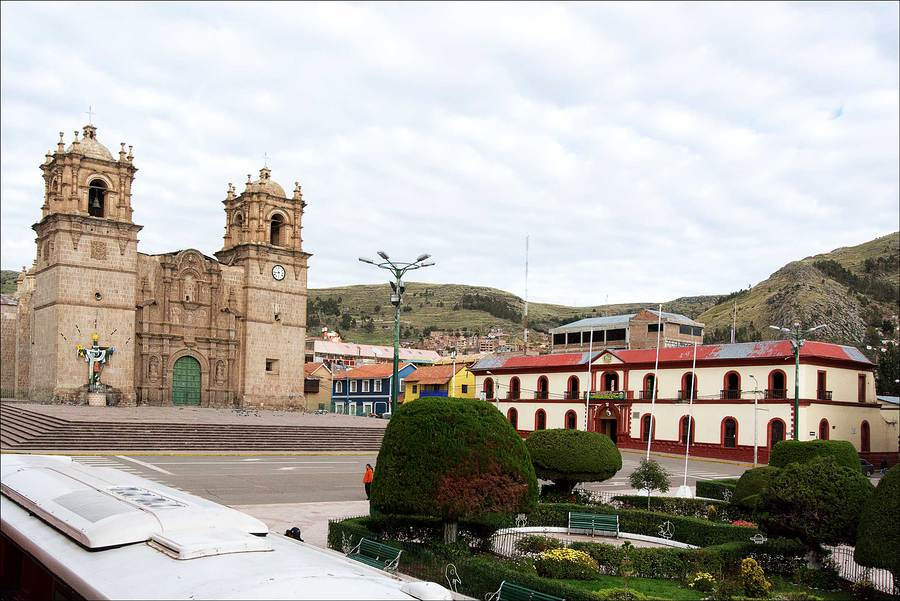 Town Square, Cusco, Peru. / Photography by Jerome Razoir / Uploaded 5th June 2015 @ 07:13 PM