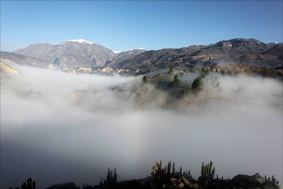 High Andes under cloud / Photography by Jerome Razoir / Uploaded 5th June 2015 @ 03:56 PM