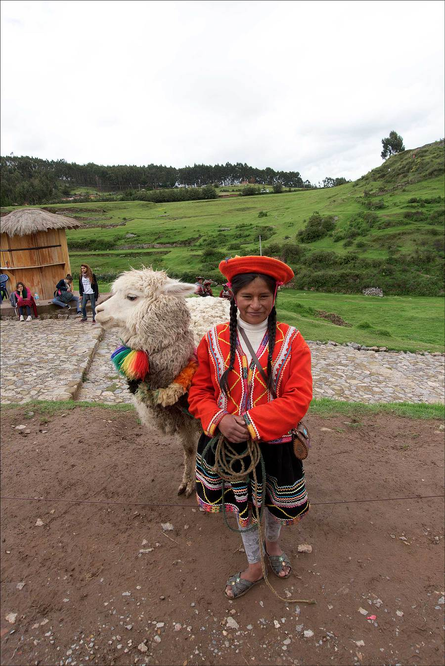 Girl with Alpaca. / Photography by Jerome Razoir / Uploaded 5th June 2015 @ 08:04 PM