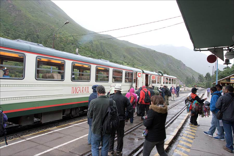 Railway Station in the Urubamba valley.  / Photography by Jerome Razoir / Uploaded 5th June 2015 @ 07:45 PM