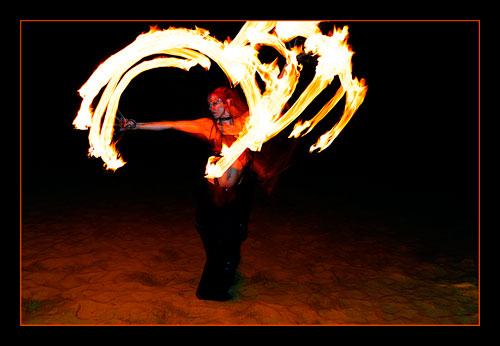 Fire poi. / Photography by Jerome Razoir / Uploaded 13th February 2012 @ 02:56 PM