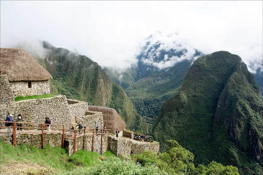 The Watchman's Hut, Machu Pichu. / Photography by Jerome Razoir / Uploaded 5th June 2015 @ 07:53 PM