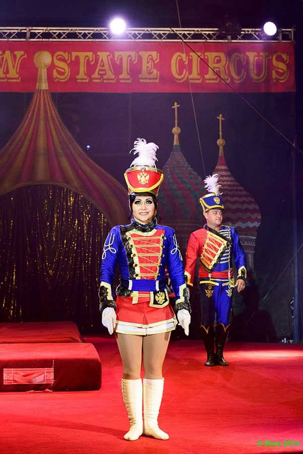 Soldier girl at Moscow State Circus / Photography by Jerome Razoir, Post processing by Jerome Razoir / Uploaded 16th December 2016 @ 11:19 PM