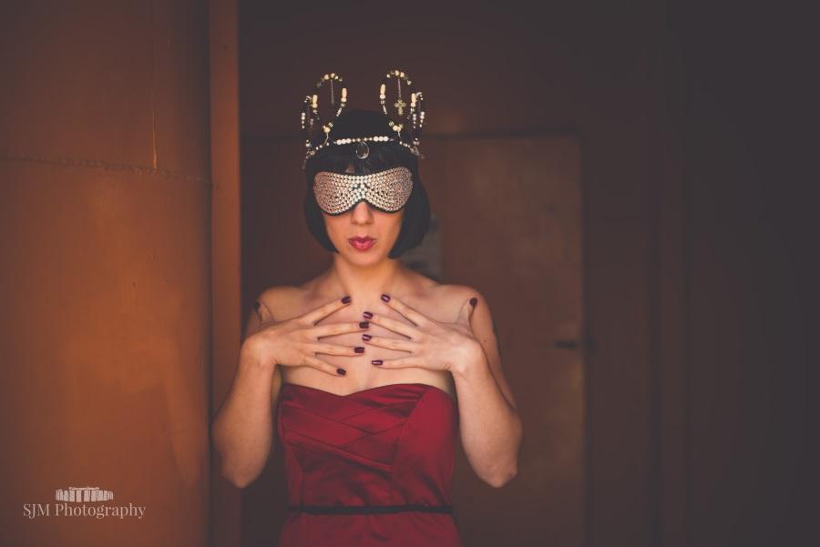 I am royalty / Photography by Simon Morton, Model Freya, Makeup by Freya, Stylist Freya, Designer Freya / Uploaded 6th October 2015 @ 06:48 PM