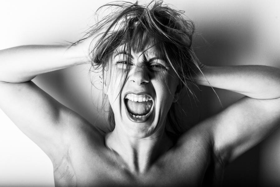 Scream / Photography by Stephen0800_2019, Model Freya / Uploaded 19th November 2019 @ 08:31 PM