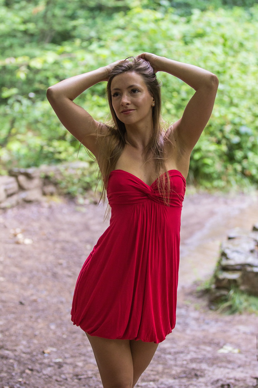 Red Topaz / Photography by CharlesPhoto, Model Claire Topaz, Post processing by CharlesPhoto / Uploaded 28th August 2015 @ 10:27 PM