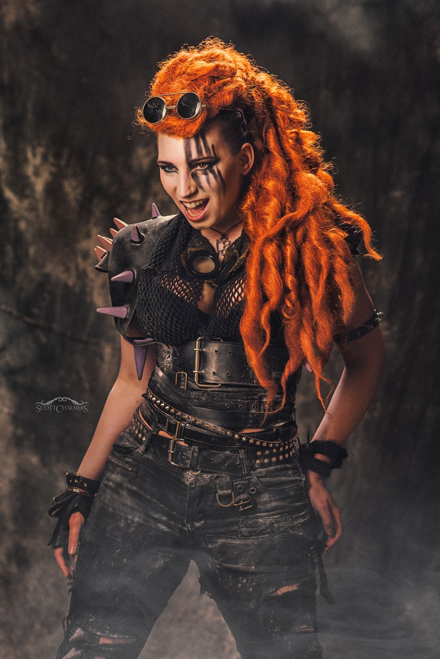 Mad Max-styled shoot / Photography by Scott Chalmers, Taken at Shutterworks Studio / Uploaded 31st March 2016 @ 10:51 PM