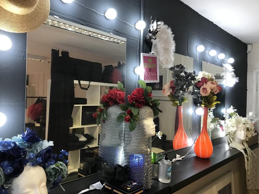 Makeup and dressing area / Taken at Shutterworks Studio / Uploaded 5th December 2020 @ 12:12 AM