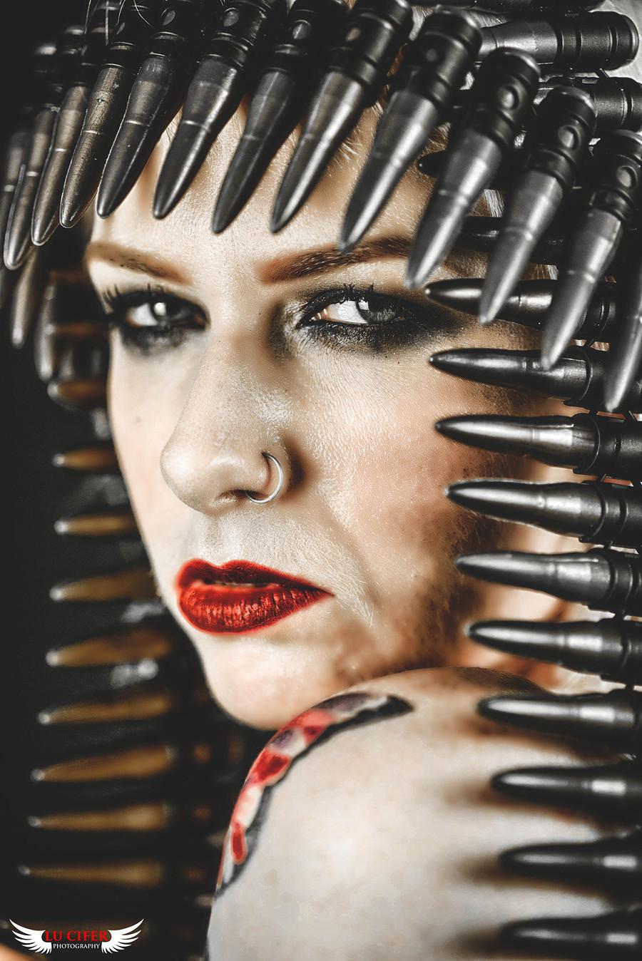 Photography by Lu Cifer Photography, Model Jocey, Makeup by Jocey / Uploaded 31st October 2016 @ 10:27 PM