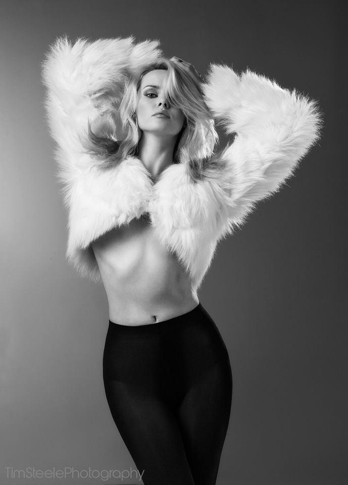 Furry Wings / Photography by Tim Steele Photography, Model Carla Monaco, Stylist Carla Monaco / Uploaded 1st June 2014 @ 06:05 PM