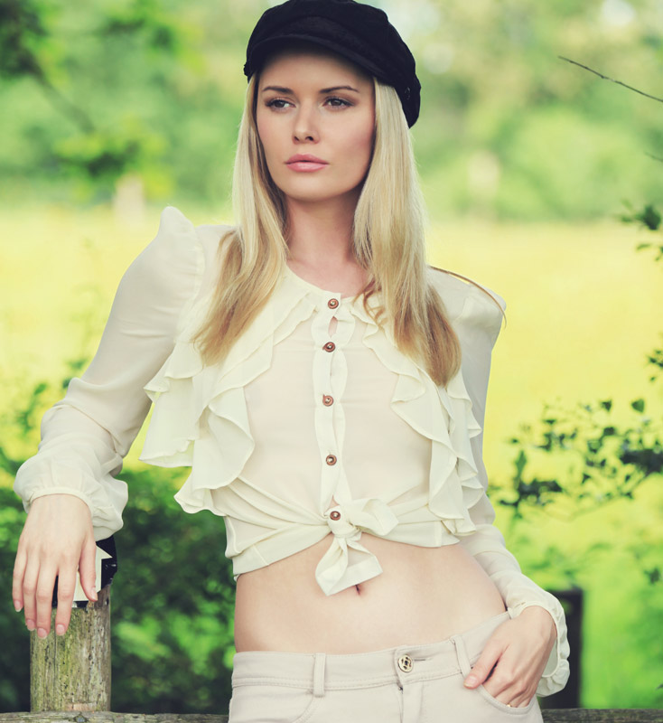 Country Girl / Model Carla Monaco, Post processing by Carla Monaco / Uploaded 17th June 2014 @ 10:18 PM