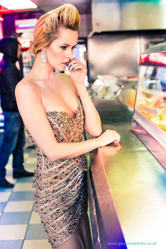 The chip shop with Diamonds.  / Photography by Gary Price Photography, Model Carla Monaco / Uploaded 12th March 2014 @ 04:14 PM