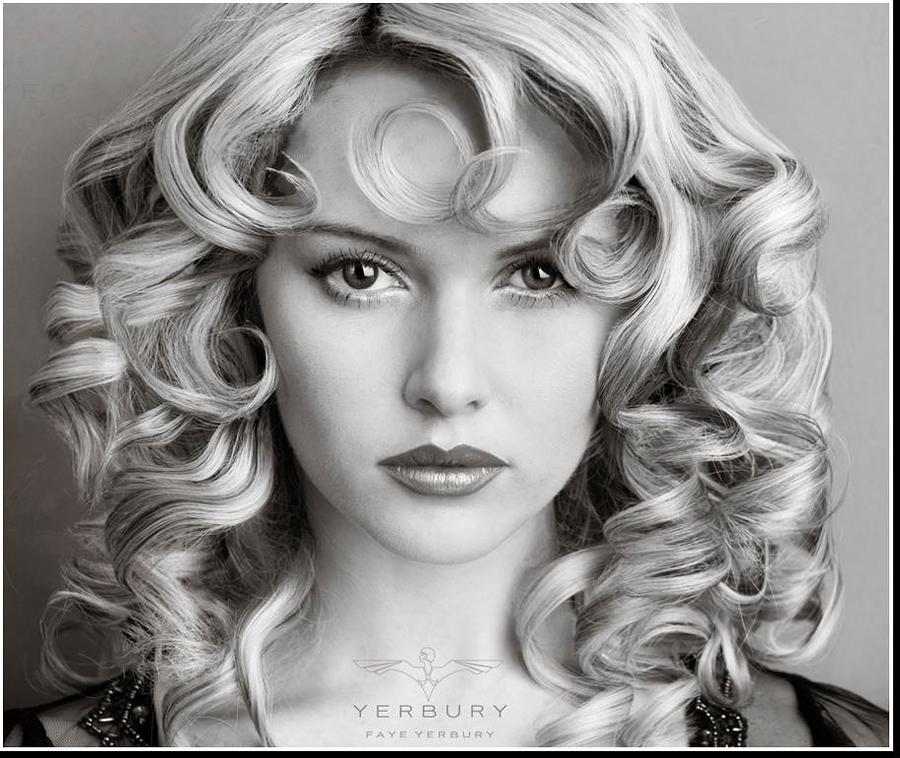 Curls  / Model Carla Monaco / Uploaded 15th May 2013 @ 05:01 PM