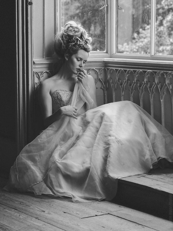 a little bit of Marie Antoinette... / Photography by Martin Higgs, Model Carla Monaco / Uploaded 28th June 2015 @ 09:59 AM