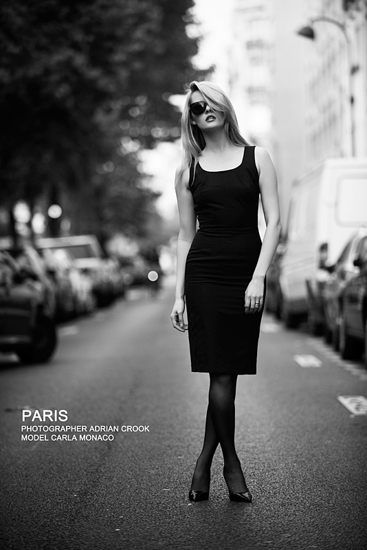Paris  / Photography by Adrian Crook, Model Carla Monaco / Uploaded 28th September 2013 @ 08:19 AM