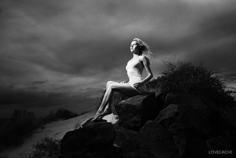 On the Rocks  / Photography by damienlovegrove, Model Carla Monaco / Uploaded 29th April 2013 @ 07:56 PM