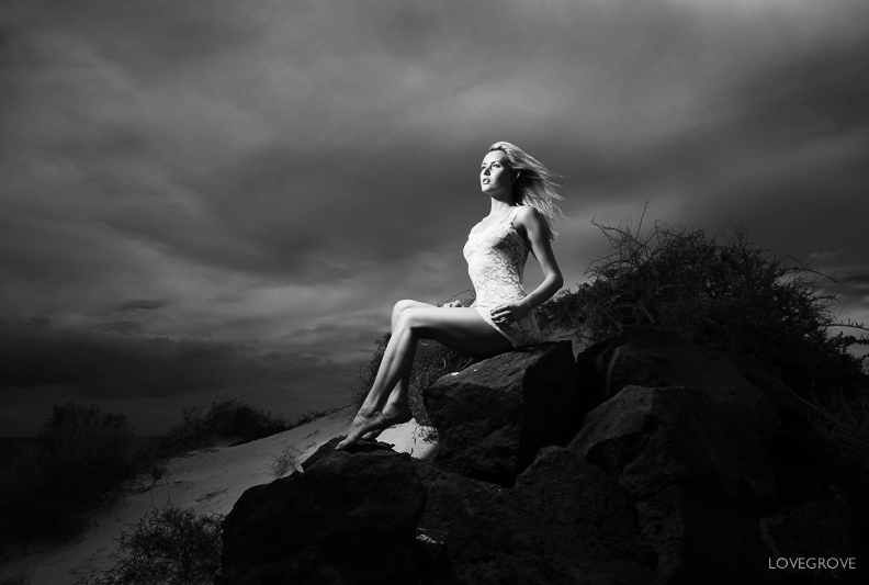 On the Rocks  / Photography by damienlovegrove, Model Carla Monaco / Uploaded 29th April 2013 @ 08:56 PM