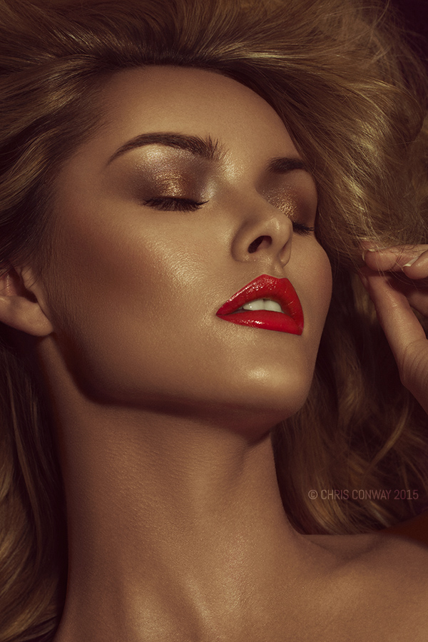 Gold / Photography by Chris Conway, Model Carla Monaco, Taken at Trident Studio [Studio Hire Plymouth] / Uploaded 8th September 2015 @ 08:33 AM
