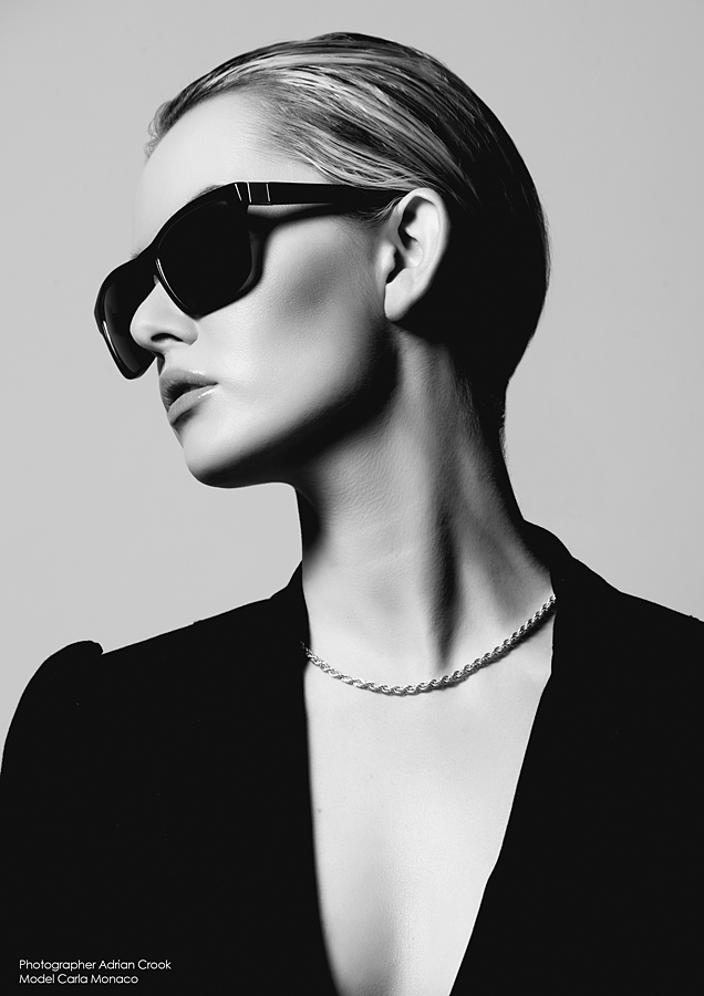 Eyewear Campaign / Photography by Adrian Crook, Model Carla Monaco / Uploaded 29th September 2012 @ 12:11 PM