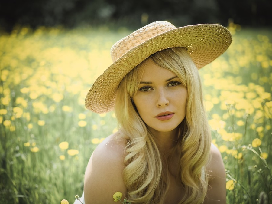 Buttercups / Photography by Shadows and LIght, Model Carla Monaco / Uploaded 26th May 2018 @ 04:52 PM