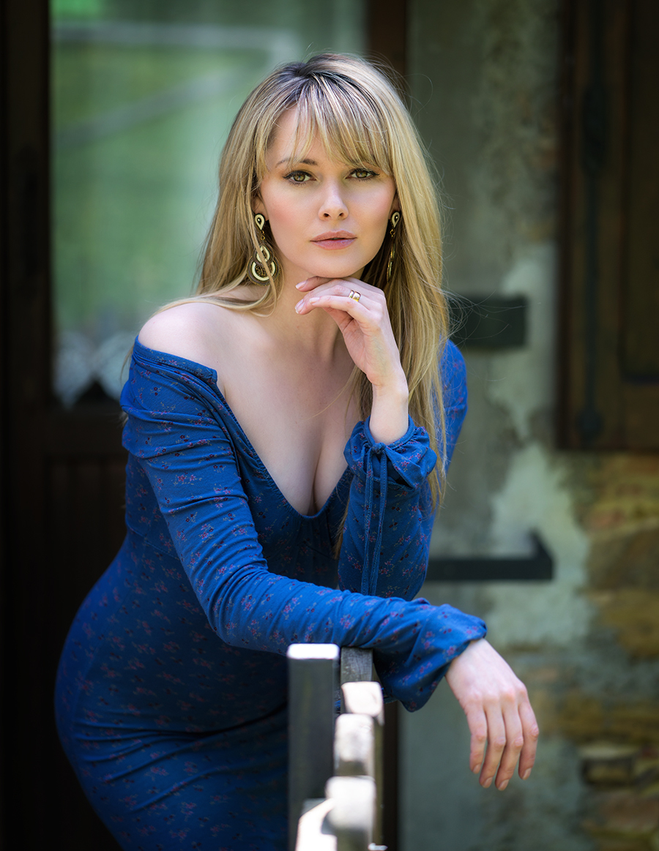 Tuscany Blues / Photography by keri hambly, Model Carla Monaco, Taken at Artemisian Luxury Photographic Holidays / Uploaded 12th May 2019 @ 06:06 PM