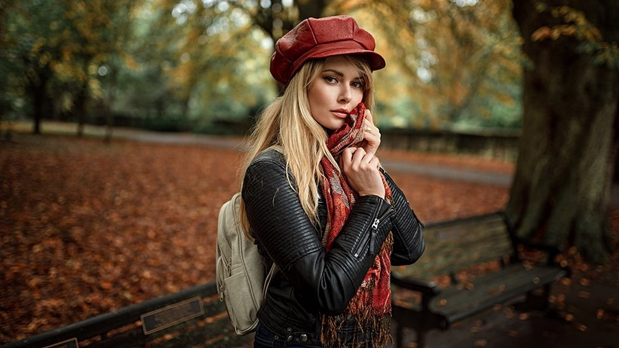 Autumn Falls / Photography by Ollie Gibbs, Model Carla Monaco / Uploaded 21st October 2019 @ 06:34 PM