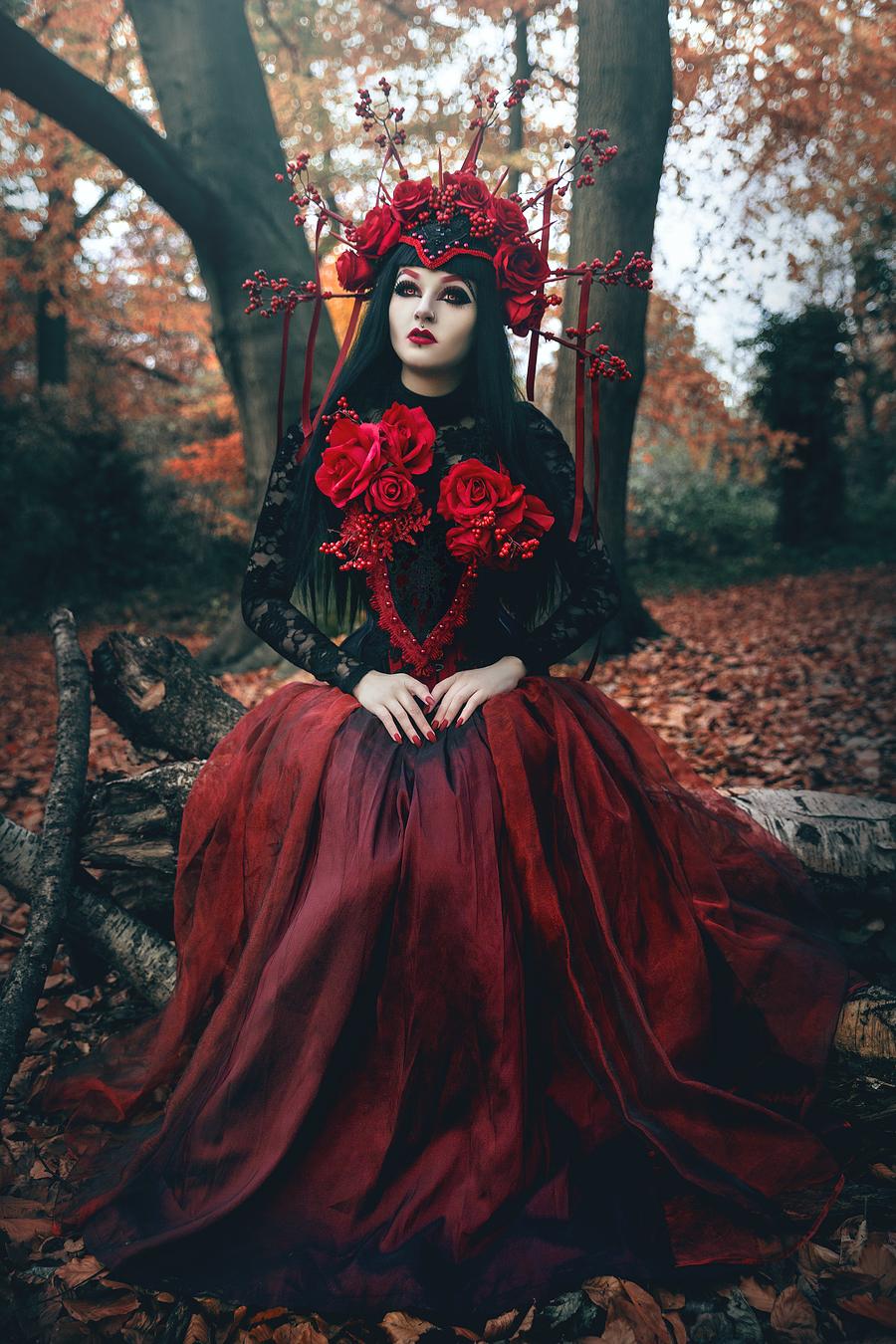 By Alex Kie / Photography by Alex Kie, Model Elladora, Makeup by Elladora, Post processing by Alex Kie, Designer Valkyrie Corsets / Uploaded 7th July 2018 @ 02:32 PM