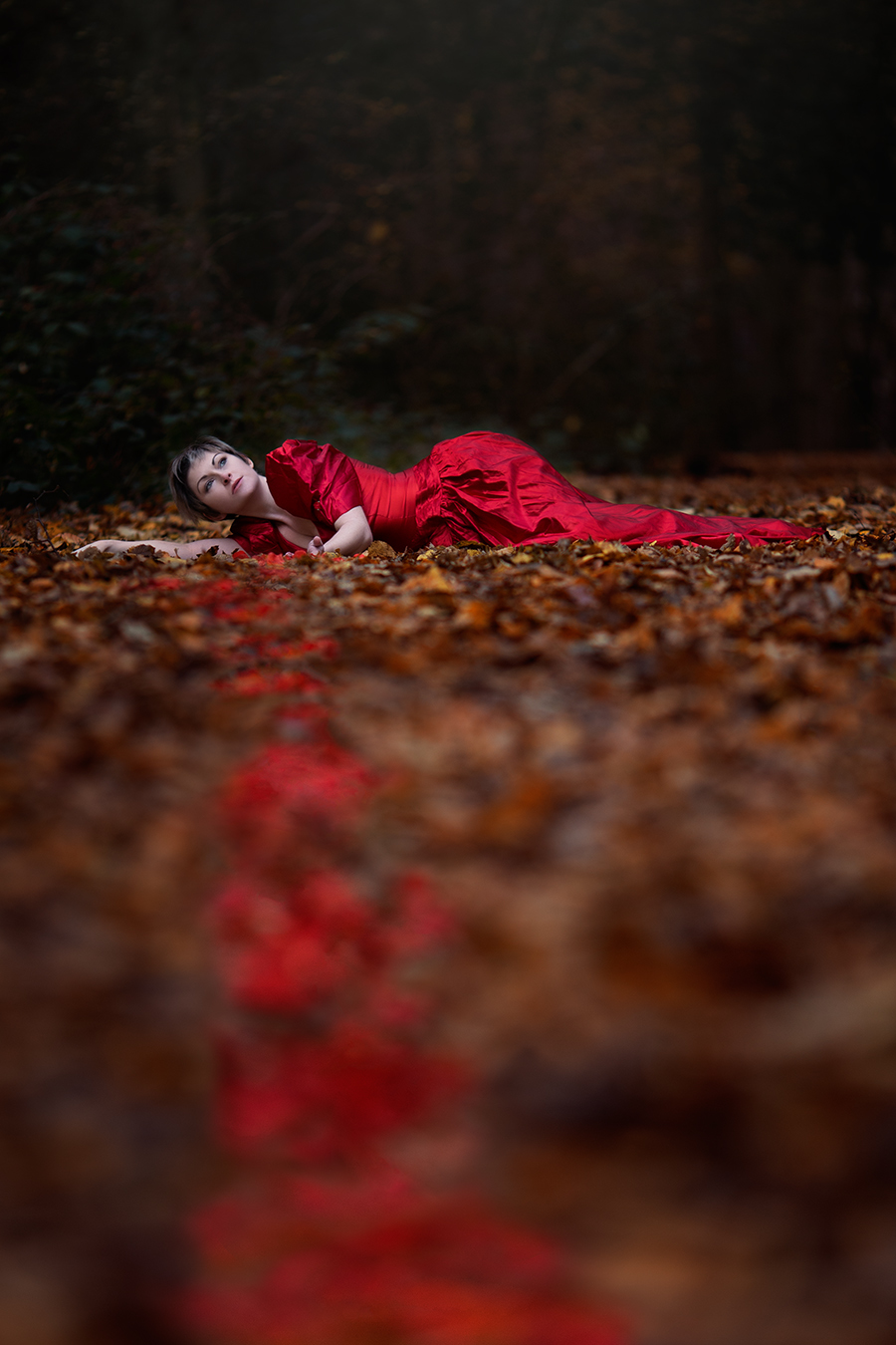 Scarlet Silence / Photography by Anjelica Hyde, Model LauraJDraycon, Stylist Anjelica Hyde / Uploaded 29th November 2016 @ 09:01 AM