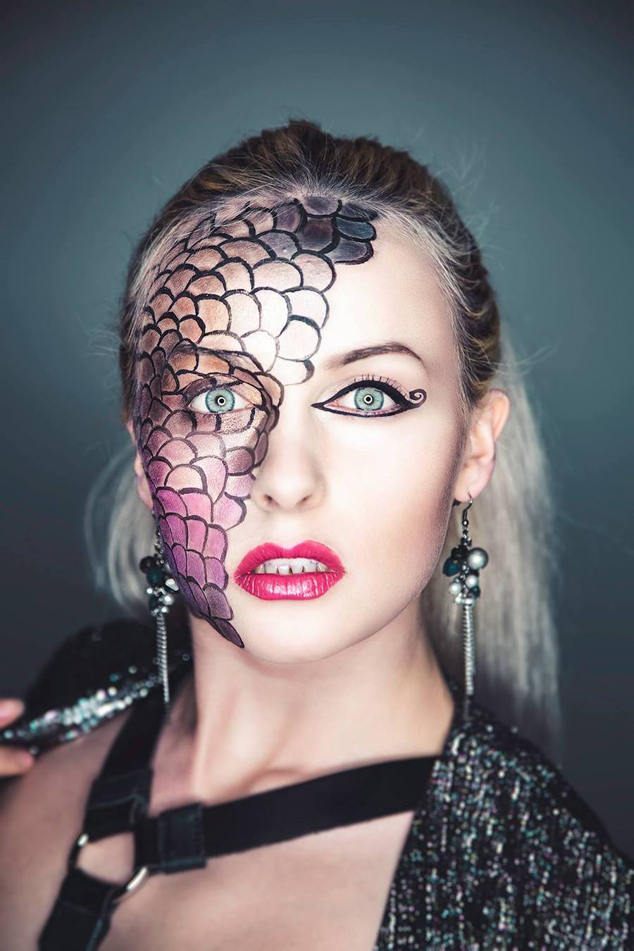 Beauty With Edge / Photography by Kevin Robertson, Model Keira Lavelle, Makeup by Keira Lavelle, Stylist Keira Lavelle / Uploaded 11th December 2016 @ 02:26 PM