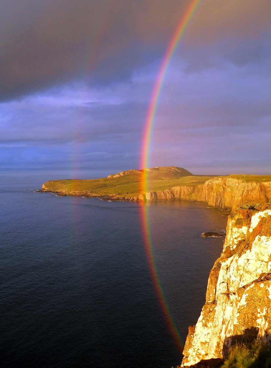 Rainbow end of Skye