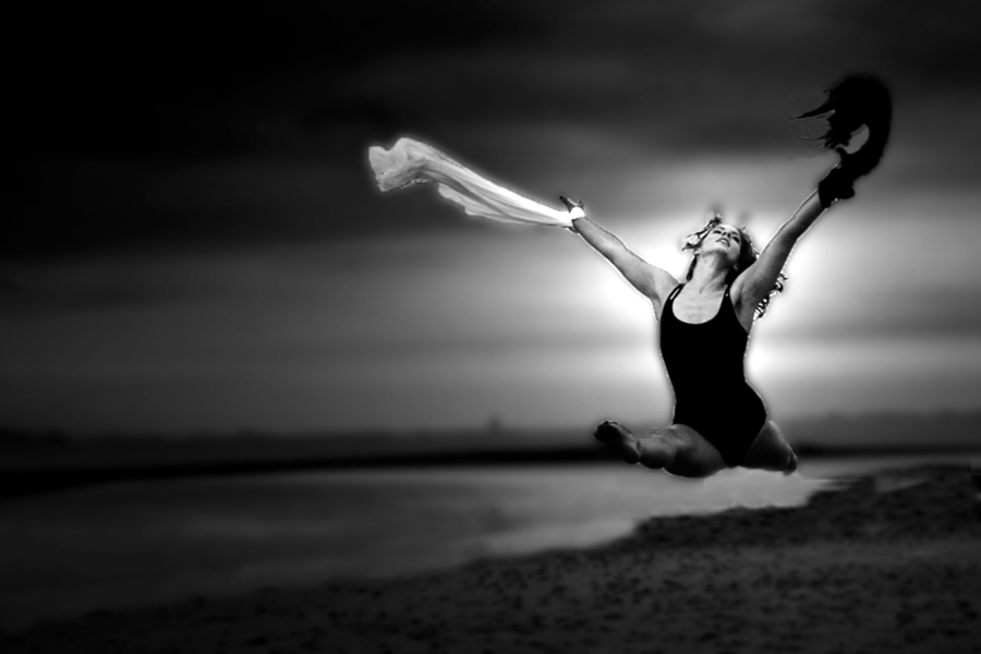 Ballet on the beach. / Photography by Its all about the Light / Uploaded 8th September 2012 @ 03:02 PM