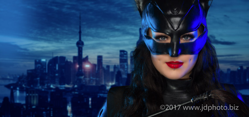 Cat Women at night / Photography by jdphoto.biz, Post processing by jdphoto.biz / Uploaded 2nd April 2017 @ 05:15 PM