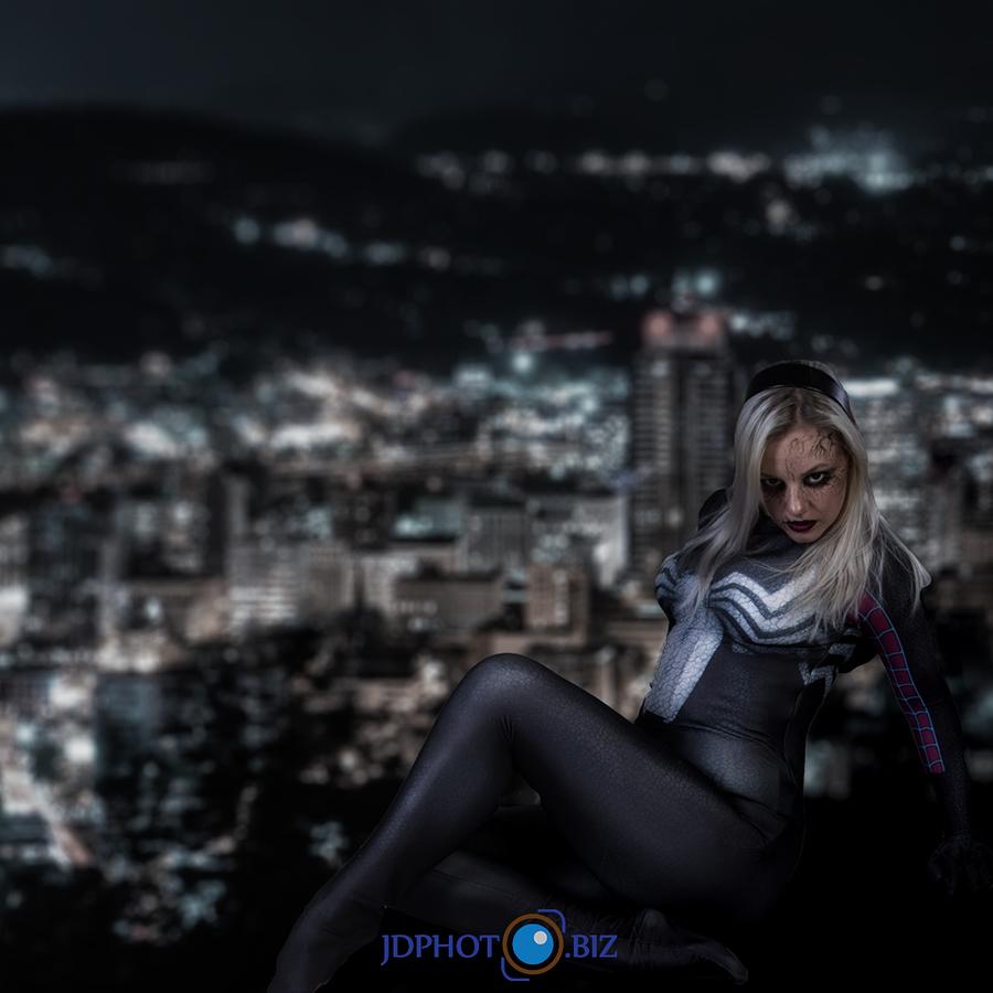Gwenom / Photography by jdphoto.biz, Model Phoenix Spider, Taken at Natural Light Spaces / Uploaded 31st March 2018 @ 07:53 PM