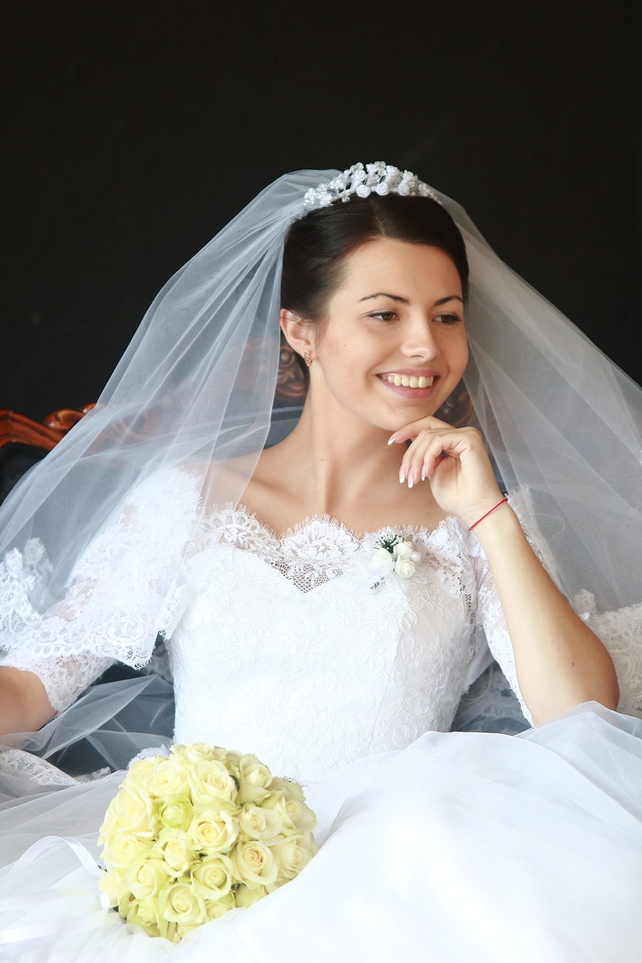 Happy bride / Photography by Vladimir / Uploaded 23rd December 2017 @ 07:49 PM