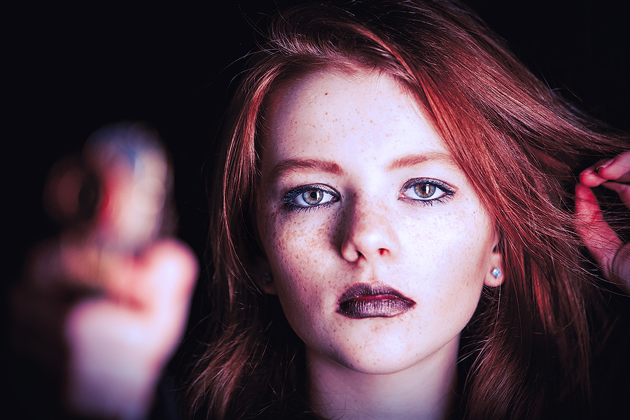 Freckled stare / Photography by jakabi, Post processing by jakabi, Taken at Art Asylum Reloaded Photo Studio / Uploaded 20th February 2016 @ 10:44 PM