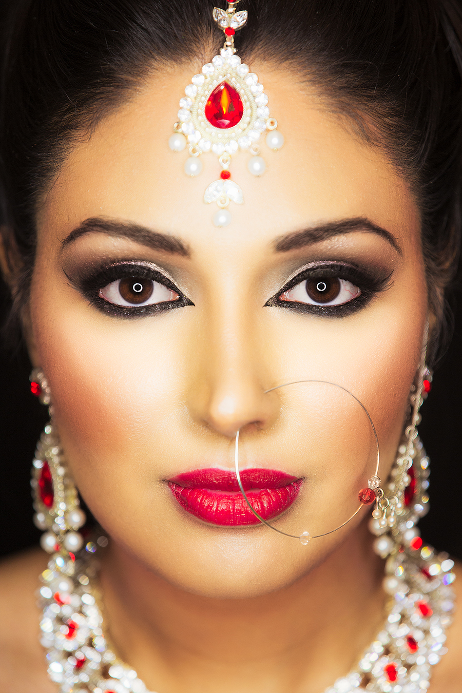 Asian Bridal makeup / Photography by jakabi / Uploaded 4th March 2016 @ 11:51 PM