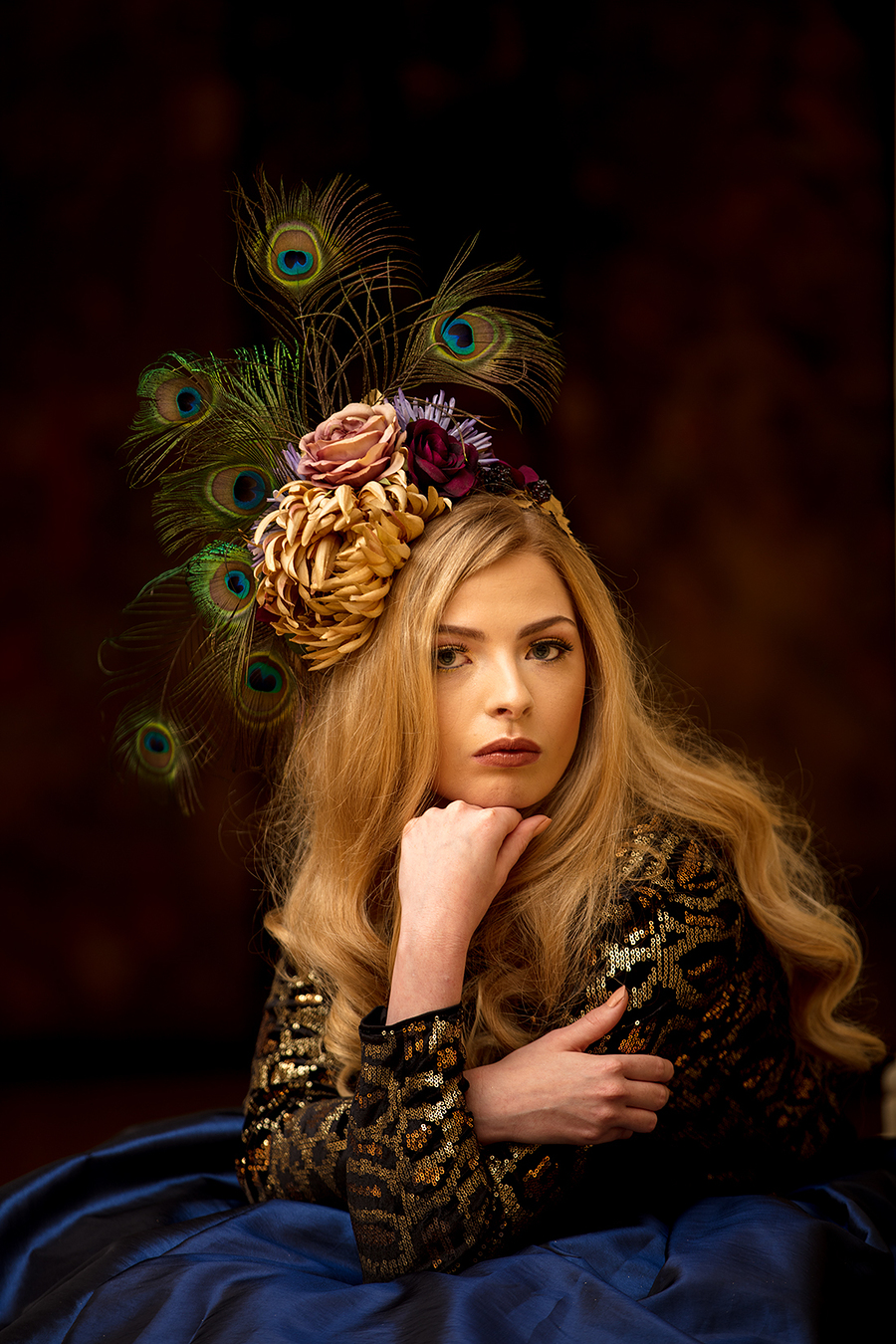 Kirsty and the peacock feathers / Photography by jakabi, Post processing by jakabi / Uploaded 27th November 2016 @ 06:08 PM