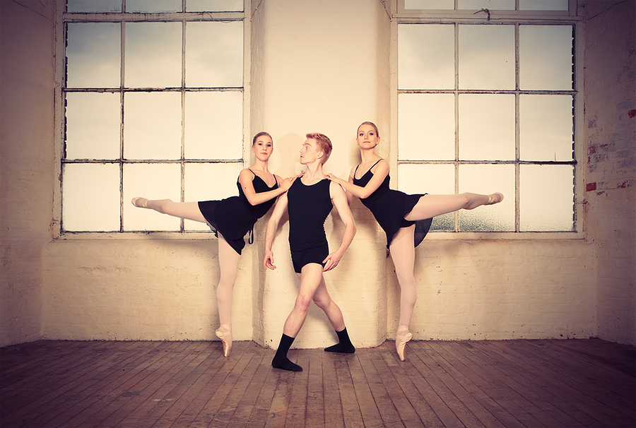 Dance project - Olivia, Ryan & Alison (1) / Photography by jakabi, Model Ealison🍀, Post processing by jakabi, Taken at HallamMill (Truedefinition) / Uploaded 24th May 2017 @ 08:26 AM