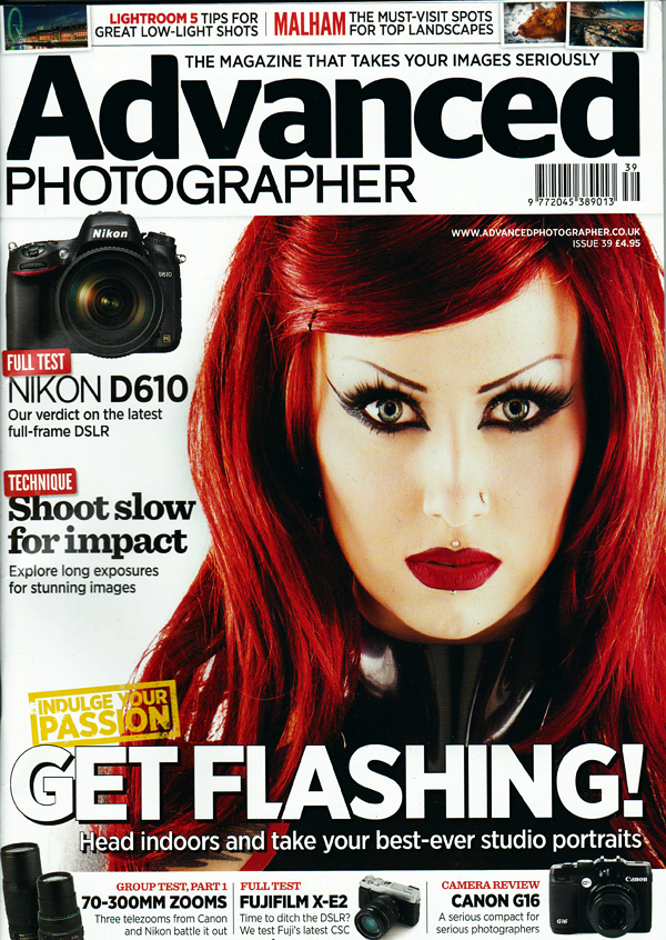 Advanced Photographer cover / Model Shelly d'Inferno / Uploaded 27th February 2014 @ 09:24 PM