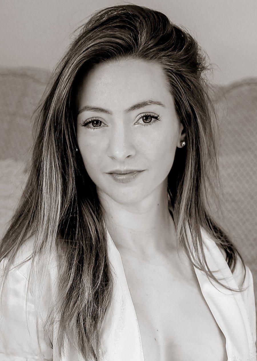Portrait Photography By Steve Delaney Model Claire Topaz Post