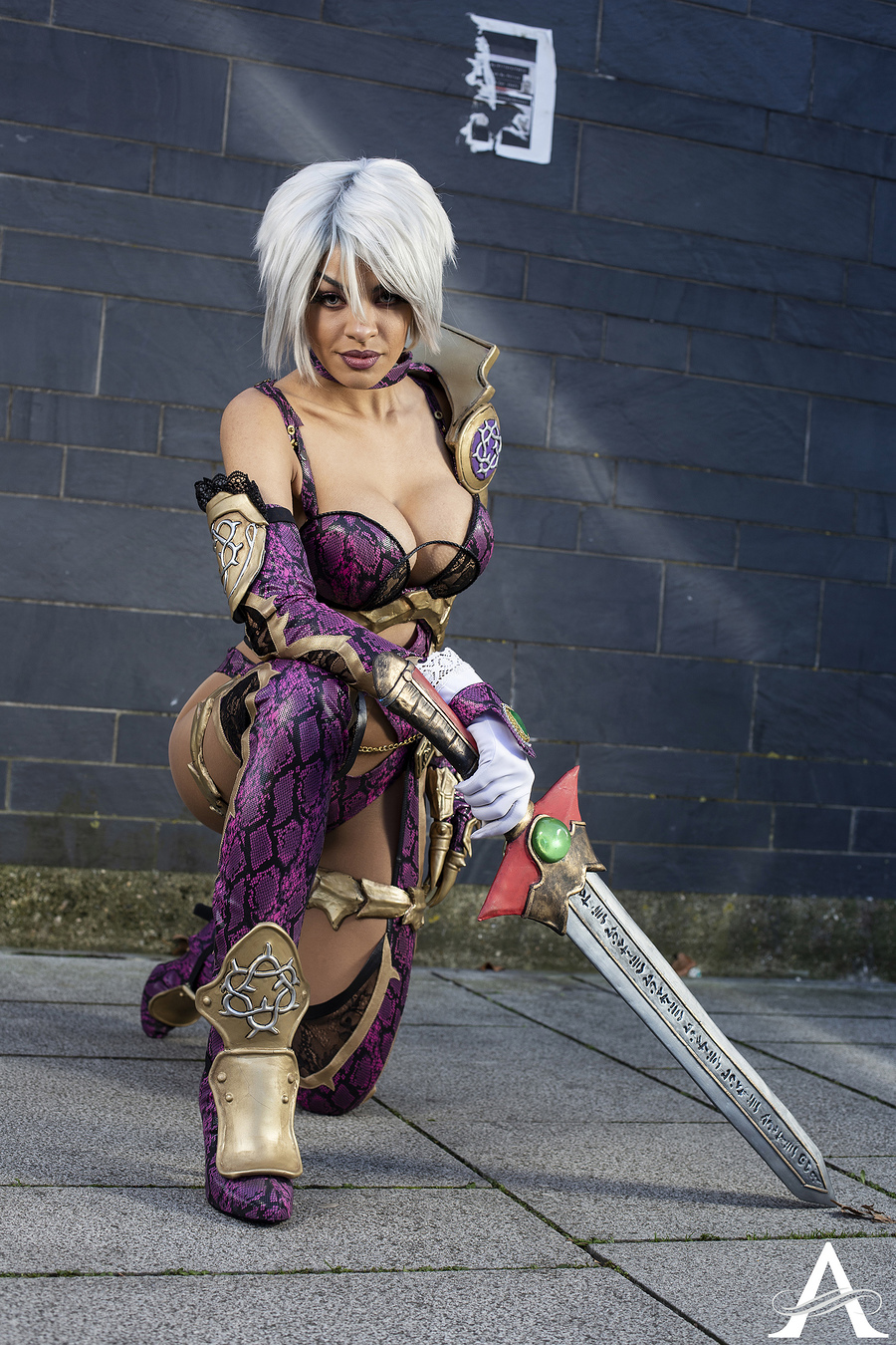 Lucidbelle - Ivy (Soul Calibur) / Photography by ~~Alucard~~ Photography / Uploaded 20th January 2021 @ 10:52 PM