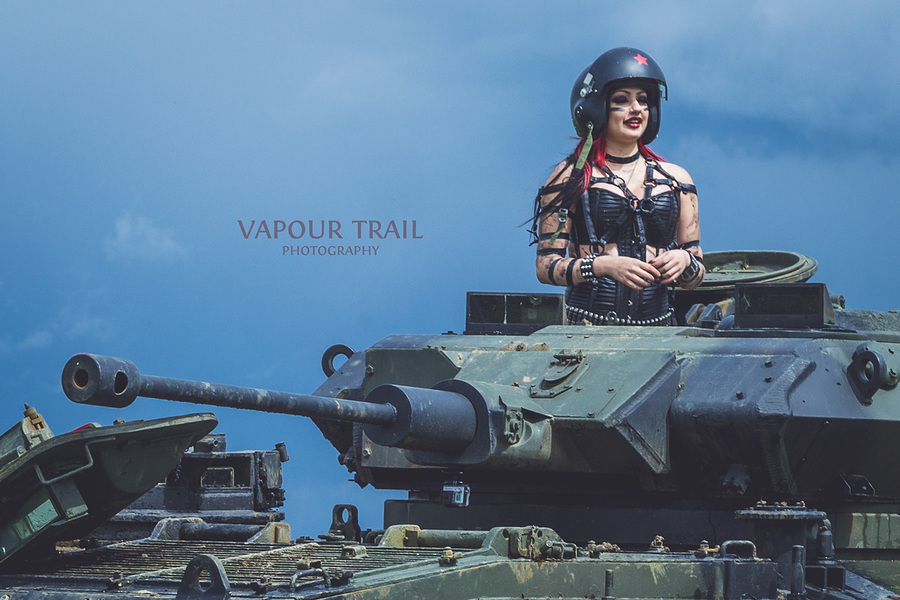 Tank Girl / Photography by Vapour Trail Photography / Uploaded 12th May 2015 @ 08:54 PM