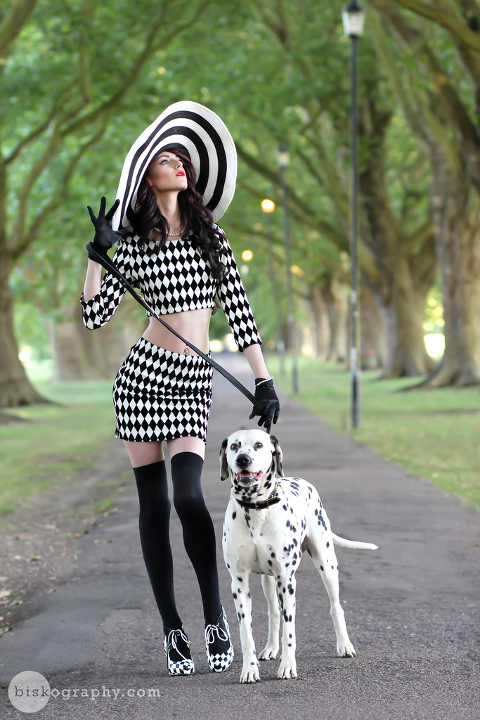 The Lady and the Dalmatian / Photography by Bisk, Designer Bisk / Uploaded 26th July 2013 @ 02:51 PM