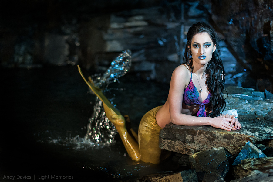 Cave Mermaid / Photography by Andy Davies LRPS / Uploaded 10th May 2016 @ 05:52 PM